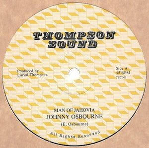 Johnny Osbourne ‎– Man Of Jahoviah