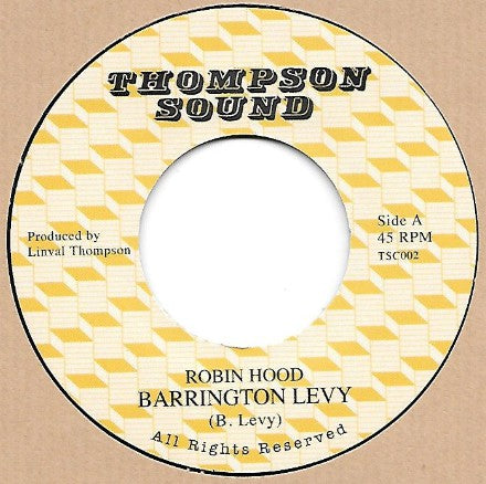 Barrington Levy ‎– Robin Hood