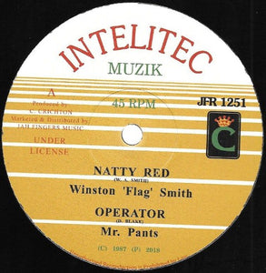"Winston ""Flag"" Smith, Mr. Pants ‎– Natty Red / Operator"