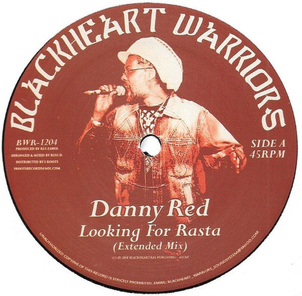 Danny Red / Russ D ‎– Looking For Rasta