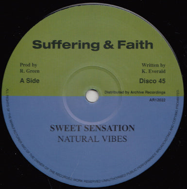 Natural Vibes ‎– Sweet Sensation
