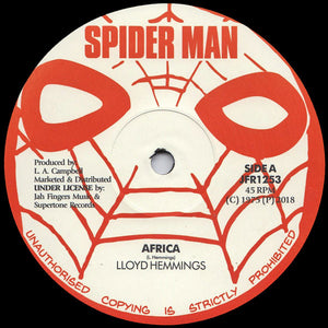 Lloyd Hemmings ‎– Africa