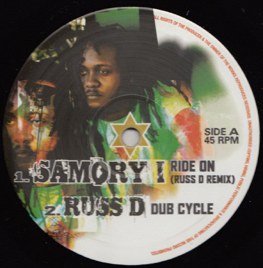 Samory I ‎– Ride On