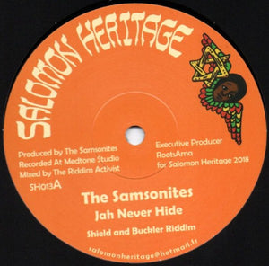 The Samsonites / Marcus Gad ‎– Jah Never Hide / Wings Of The Wind