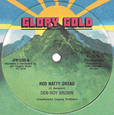 Den-Roy Brown ‎– Red Natty Dread