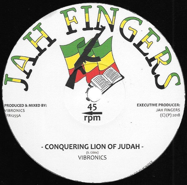Vibronics ‎– Conquering Lion Of Judah