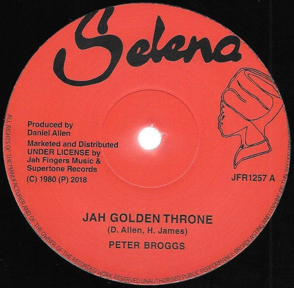 Peter Broggs / Dexter McKintyre ‎– Jah Golden Throne/ 144,000 Saints