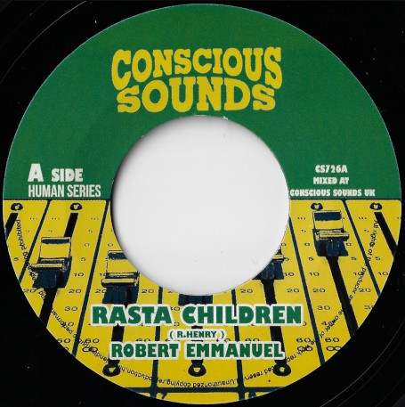 Robert Emmanuel ‎– Rasta Children