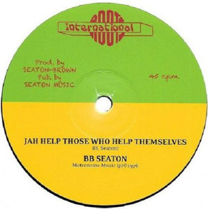 B.B. Seaton ‎– Jah Help Those Who Help Themselves / Aware Of Love