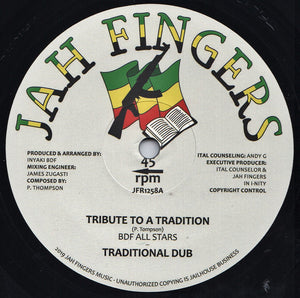 BDF All Stars ‎– Tribute To A Tradition