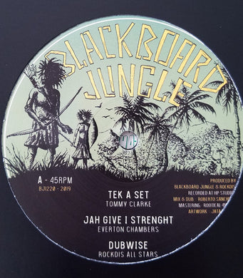 Tommy Clarke / Everton Chambers / Donovan King Jay, John Cereal ‎– Tek A Set / Jah Give I Strenght / Signs / Herbs