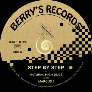 Marcus I, Natural High  ‎– Step by Step
