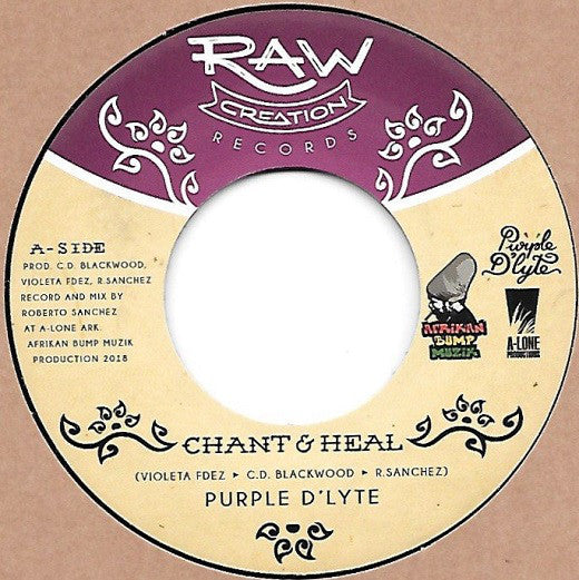Purple D'Lyte ‎– Chant & Heal