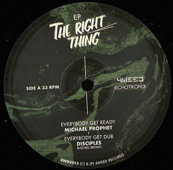 Michael Prophet / Johnny Clarke / Disciples  ‎– The Right Thing / One Man Life