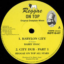 Barry Issac / Reggae On Top All Stars ‎– Babylon City