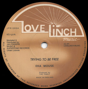 Eka Mouse ‎– Trying To Be Free / No Wicked (Eek A mouse)