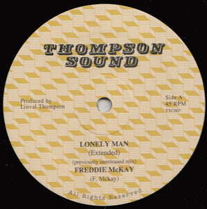Freddie McKay / Linval Thompson ‎– Lonely Man / Jump For Joy
