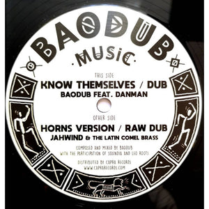 Baodub, Danman*, Jahwind*, The Latin Comel Brass ‎– Know Themselves / Horns Version