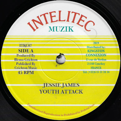 Jessie James ‎– Youth Attack