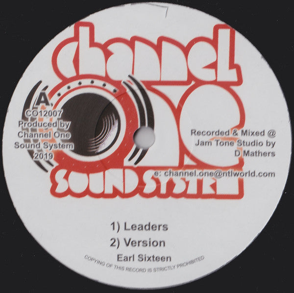 Earl Sixteen ‎– Leaders
