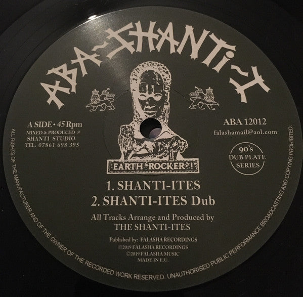 Aba-Shanti-I, The Shanti-Ites ‎– Shanti Ites - Groundation Rock