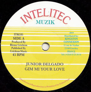 Junior Delgado ‎– Gim Mi Your Love