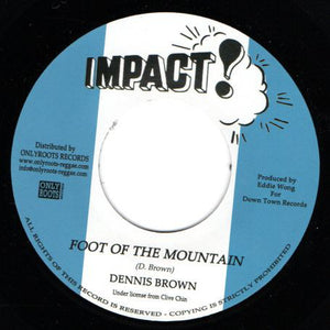 Dennis Brown ‎– Foot Of The Mountain