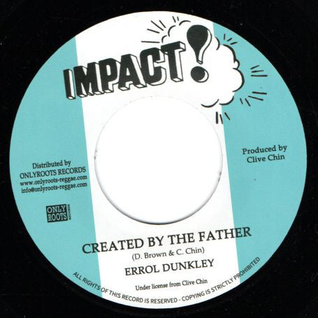 Errol Dunkley ‎– Created By The Father