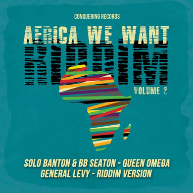 Various ‎– Africa We Want Riddim Volume 2