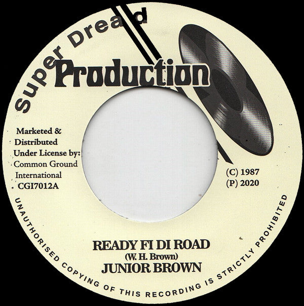 Junior Brown ‎– Ready Fi Di Road