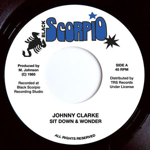 Johnny Clarke ‎– Sit Down & Wonder