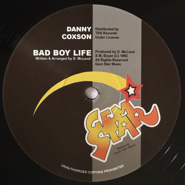 Danny Coxson ‎– Bad Boy Life / Mass Out