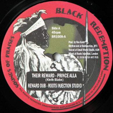 Prince Alla / Fred Locks ‎– Their Reward / Walls