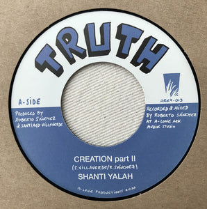 Shanti Yalah, Winston Blendah ‎– Creation part II / Wash & Clean