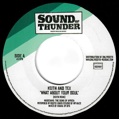 Keith & Tex ‎– What About Your Soul