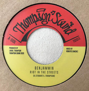 Ben-Jammin' ‎– Riot In The Streets / Riot In Dub