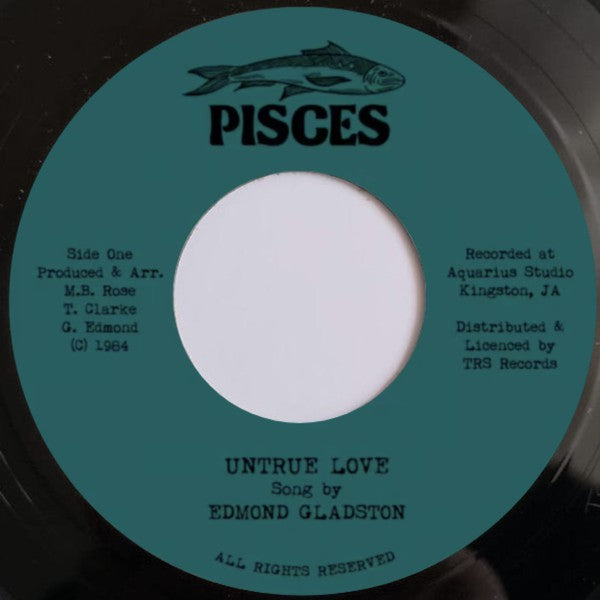 Edmond Gladston ‎– Untrue Love