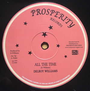 Delroy Williams ‎– All The Time
