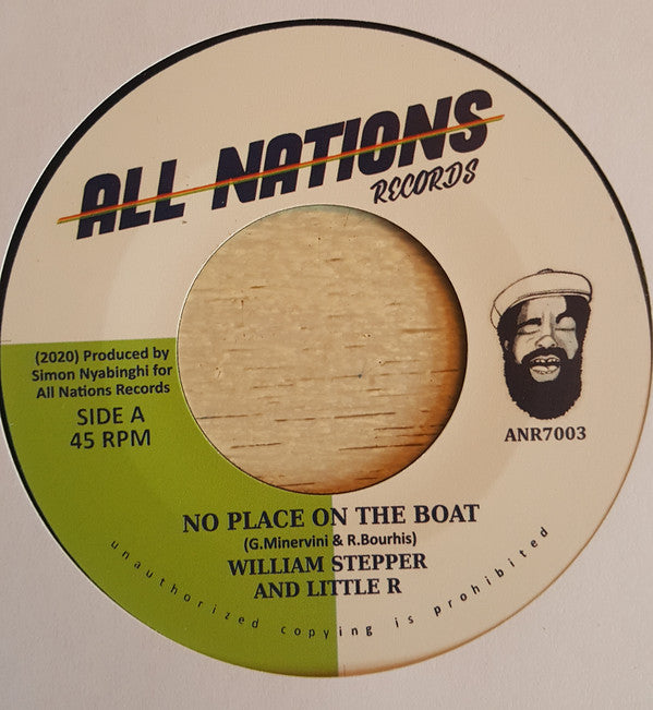 William Stepper, Little R ‎– No Place On The Boat