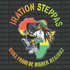 Iration Steppas ‎– Dubz From De Higher Regionz