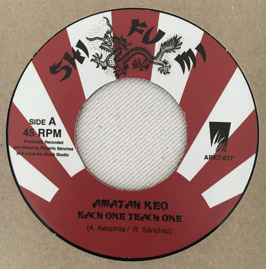 Amatah Keo, Lone Ark Riddim Force ‎– Each One Teach One