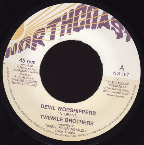 Twinkle Brothers ‎– Devil Worshippers