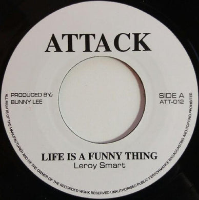 Leroy Smart / Trinity (4) ‎– Life Is A Funny Thing / Phsams