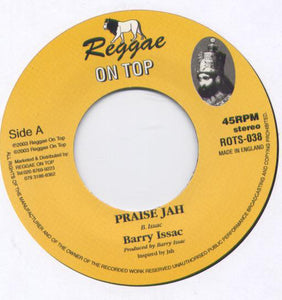 Barry Issac / Reggae On Top All Stars ‎– Praise Jah