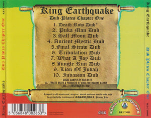 King Earthquake ‎– Earthquake Dub-Plates Chapter One [CD]
