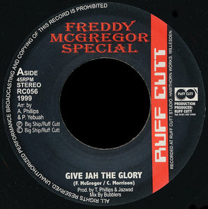 Freddy McGregor ‎– Give Jah The Glory