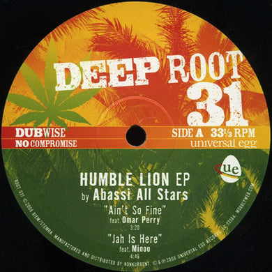 Abassi All Stars ‎– Humble Lion EP