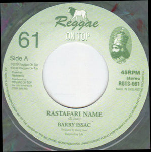 Barry Issac ‎– Rastafari Name