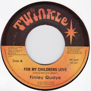 Finley Quaye ‎– For My Childrens Love