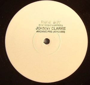 Johnny Clarke ‎– Rude Boy / You Better Try